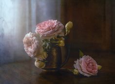 The English roses blossomed - null