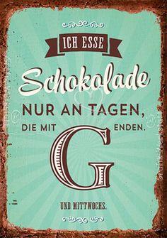 Schokolade - Postkarten - Grafik Werkstatt Bielefeld