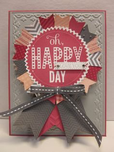 Stampin' Up! Card by Pretty Provisions: Happy Love You Day!