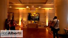 Erin & Kyle's Wedding at The Marquee Hartford CT - DJ - Uplighting