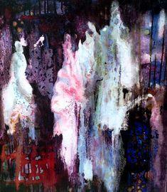 "Saatchi Art Artist Caia Matheson; Painting, ""Apparitions"" #art"