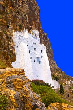 Panagia Hozoviotissa, Amorgos, Cyclades Islands, Greece