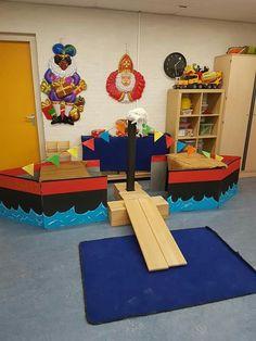 Rollenspel: Thema Sinterklaas - Stoomboot