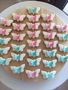 Vanilla&cinnamon butterfuly cookies