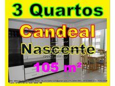 Apartamento de 3 dormitórios sendo 1 suíte Localizado no bairro Candeal  de Salvador