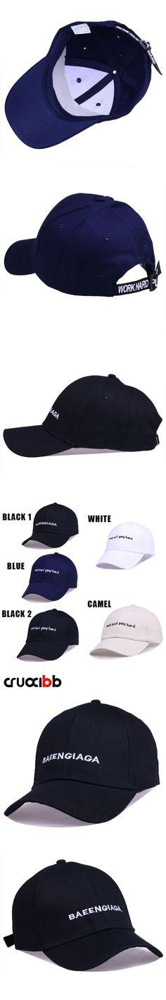 8bfdd9e5aec CRUOXIBB New Men Baseball Cap Embroidery Letter Solid Hat for Women  Snapback Outdoor Caps Unisex Black Cap Bone Chapeau Gorro  HatsForWomenBlack