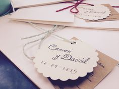 Invitaciones de boda personalizadas Print the Legend Carmen & David por @Print the Legend #invitaciones #printthelegend #invitacionesdeboda #bodas