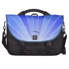 "Blue Sunbeam & Seagulls ""FlyAway"" Bag"