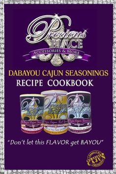 Dabayou Cajun Seasonings Recipe Cookbook: cookbook Cajun Seasoning Recipe, Cajun Dishes, Cajun Cooking, Red Beans, Cookbook Recipes, Kidney Beans