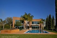5 bedroom villa with pool in Vilamoura, Algarve, Portugal - http://tinyurl.com/chrta96 - Stunning detached villa located in Vilamoura, golf frontage on the Championship Millennium course. Direct Golf exposure and front line views towards the green of the Golf course, south facing with all day sun-light swimming pool. http://www.portugalbestproperties.com/component/option,com_iproperty/Itemid,8/id,1170/view,property/#