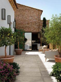 Outdoor Spaces, Outdoor Living, Outdoor Decor, Exterior, In Ground Pools, Balcony Garden, Future House, Outdoor Gardens, Pergola