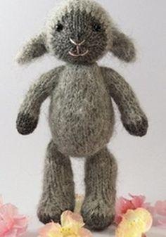 Fuzzy Lamb Knitting Pattern | AllFreeKnitting.com