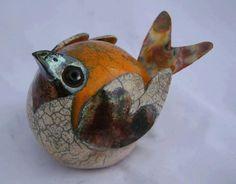 Clay Birds, Ceramic Birds, Ceramic Animals, Clay Animals, Ceramic Art, Raku Pottery, Pottery Sculpture, Bird Sculpture, Animal Sculptures