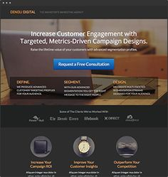 Denoli  A stylish click-through template for your business or consultancy.