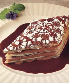 Phyllo Chocolate Napoleon