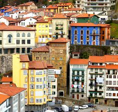 Mutriku, Basque Country. This is where I stay every year in August.