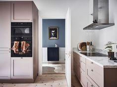 Inspirernade hem i fina färgnyanser