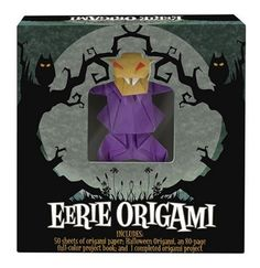 Eerie Origami by Duy Nguyen (2009) BOOK ONLY (Geat craft idea for Halloween)