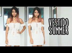 VESTIDO SUMMER - CROCHÊ (with english subtitles) - YouTube