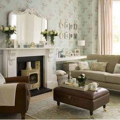 Moderne vintage Wohnzimmer Wohnideen Living Ideas Interiors Decoration