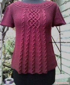 Diario Tanya_Odessa: liveinternet - Servizi Russo diari on-line Knitting Blogs, Knitting Designs, Baby Knitting, Knitted Baby, Knit Cardigan Pattern, Sweater Design, Crochet Clothes, Knitwear, Knit Crochet