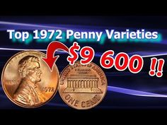 1972 Penny Varieties Worth Money that you Can Look for in Pocket Change Valuable Pennies, Valuable Coins, Old Coins Worth Money, Old Money, Coin Collection Value, Penny Values, Old Coins Value, Error Coins, Coin Worth