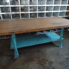 Salvaged Bowling Alley Lane Table Top