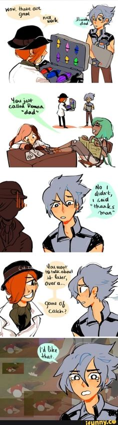 Awwww I kinda feel bad for like emerald and Merc cause they have a bad backstory...