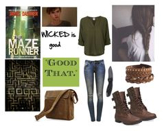 """""""Maze runner outfit"""" by sweetlikechocolate95 ❤ liked on Polyvore"""