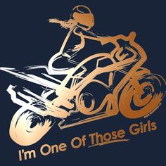 For all biker chicks - Motorrad Biker Quotes, Motorcycle Quotes, Motorcycle Gear, Lady Biker, Biker Girl, Biker Baby, Dirtbikes, Biker Chick, My Ride