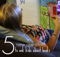 Books open the door to conversations with kids. Mix things up with some new post-reading questions.