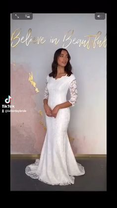 Modest style of wedding dresses, lots of fun and unique styles. Picking 17 videos and letting tik tok sync it for us 🤩🤩🤩 #weddingdresses #ldb #latterdaybride #fyp #foryoupage #modestwedding #utah #slc