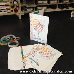 Note Cards & Envelopes make PERFECT invitations with their cute size and economical price.