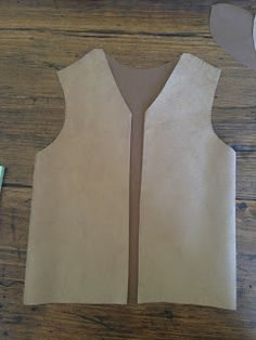 Tutorial And Pattern Frontier Vest Made Good Starting Point For