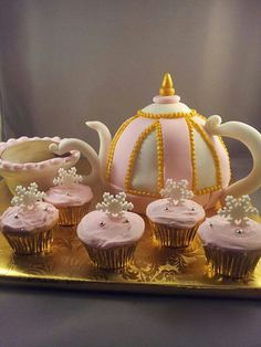 Cake and cupcakes