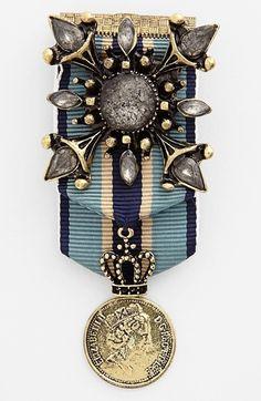 Cara 'Royal Highness' Military Pin available at #Nordstrom
