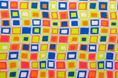 Printed Spandex (Orange, Lime, Blue, Multi) Spandex World #7965