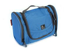Native Planet Portable Travel Organizer Hanging Toiletry Bag JetSet Blue  Grey Blue * You can get additional details at the image link. (Note:Amazon affiliate link)