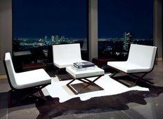 night skyline seats.... a stunning invitation