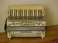 Beautiful pre-war accordion.  Accordions are so beautiful even when they aren't being played.