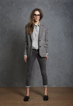 Menswear Inspired Suit