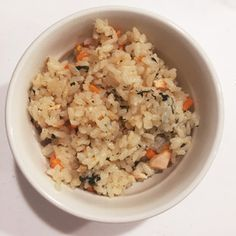 【離乳食後期】鮭と野菜の炊き込みご飯♡ by su⚘ [クックパッド] 簡単おいしいみんなのレシピが253万品