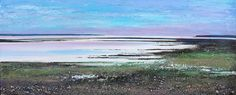 Tresco morning Low Tide - acrylic on canvas