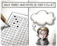 Standardized Testing (cartoon) - Democratic Underground