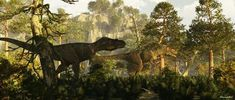Albertosaurus is a genus of tyrannosaurid theropod dinosaur that lived in western North America during the Late Cretaceous.