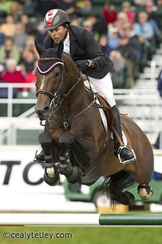 eric lamaze & hickstead...i wish i could have watched them compete at the 2012 olympics :((