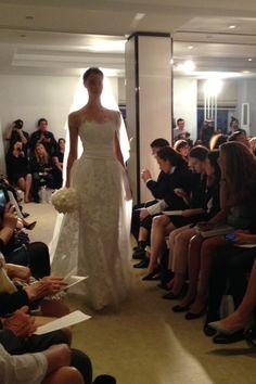 Carolina Herrera - New York Bridal Market - Spring 2015 Belle Bridal a65cc4c6a7a2