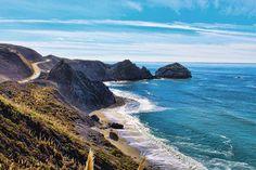 Coastline of Big Sur, America // PHOTO: Sara Riley Photography