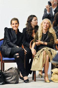 Charlotte and Franca Sozzani