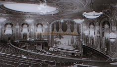 The Auditorium of the Trocadero - Photo from the CTA Plaque placed on the site of the Trocadero in 2008. M.L.